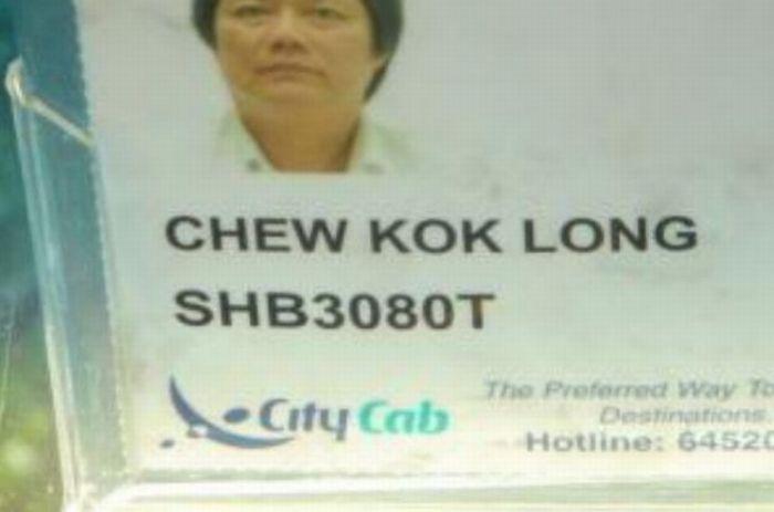 Funny Names: Funny Taxi Driver Names