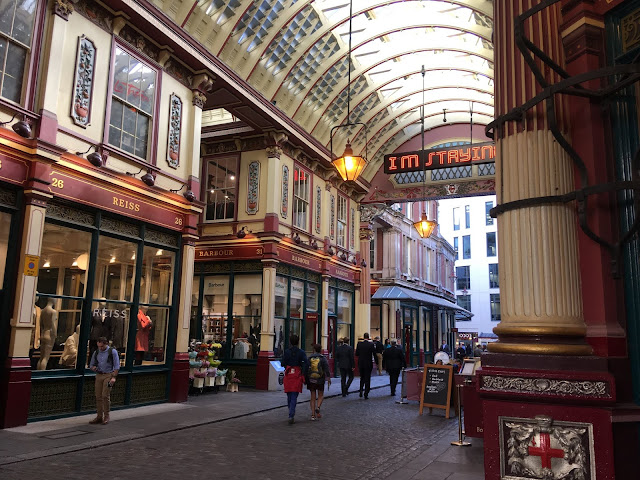 London tips Leadenhall Market