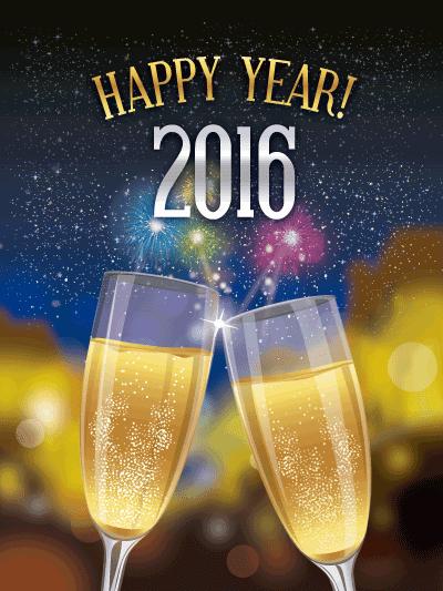 Brindis de Año Nuevo 2016