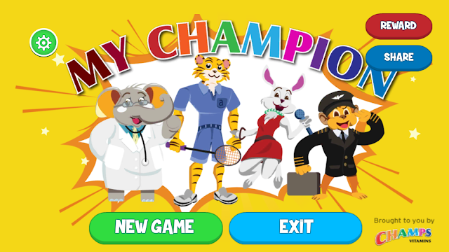 MY CHAMPION Mobile Application