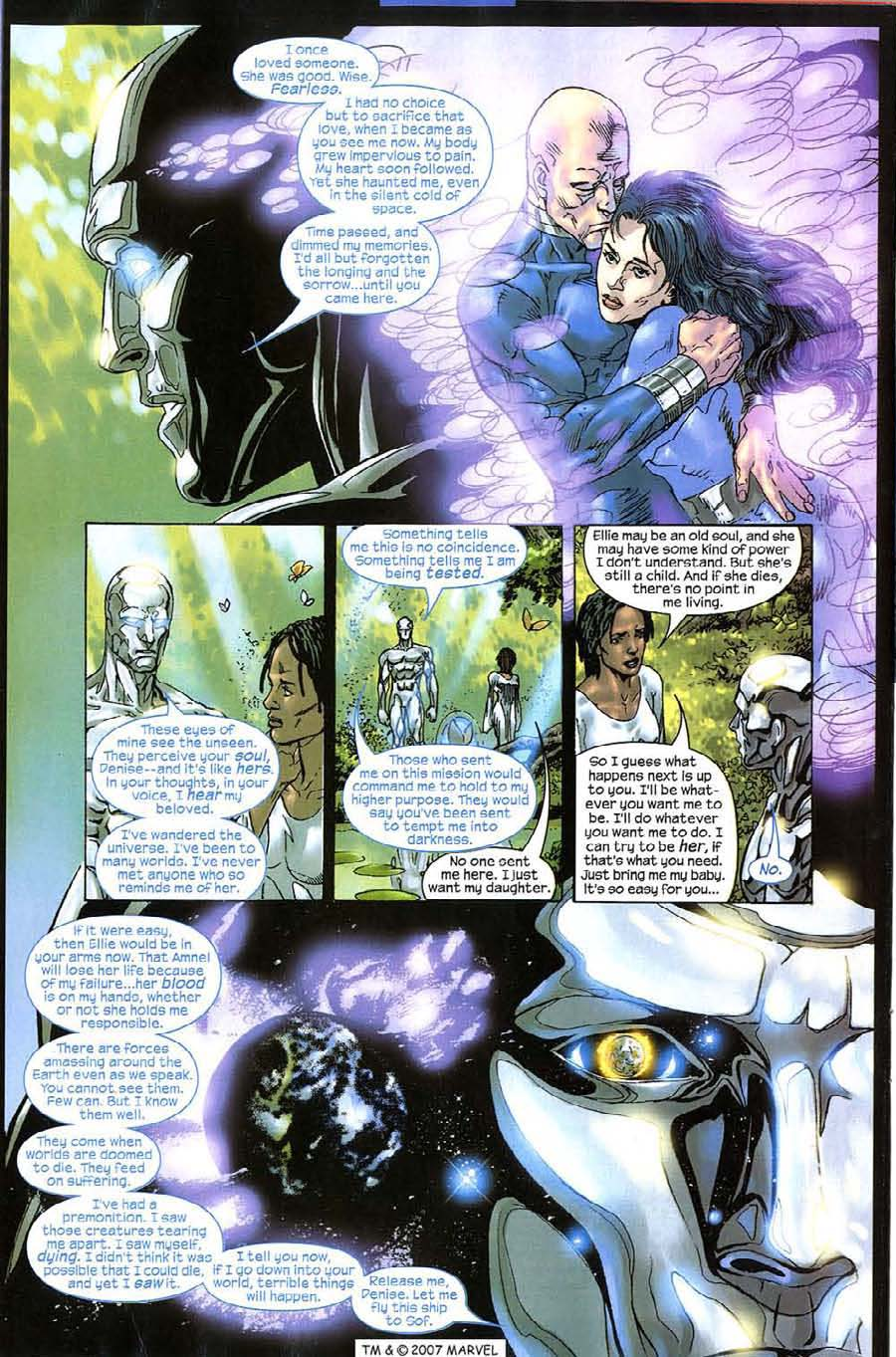Read online Silver Surfer (2003) comic -  Issue #11 - 28