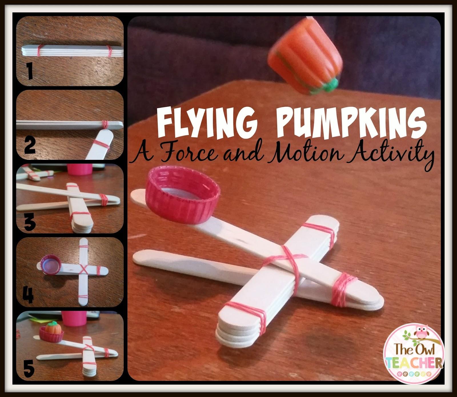 Flying Pumpkins For Science