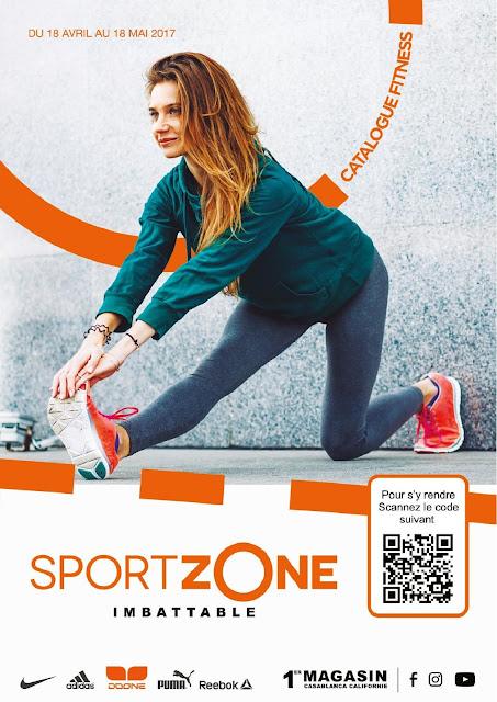 catalogue sport zone avril mai 2017