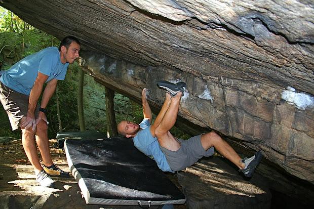 Wildfilm Bouldering Ridge And People In Woods Part 1