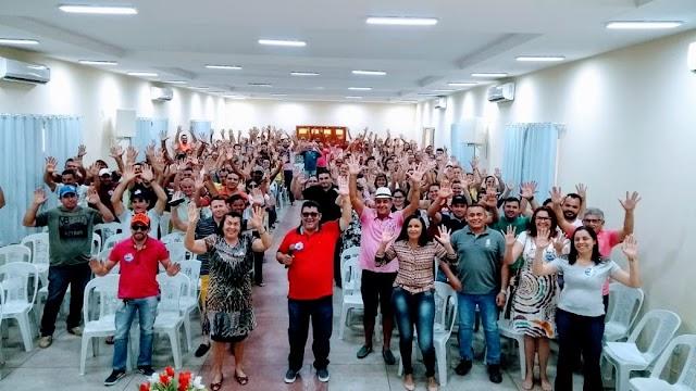 Iniciada a caça ao eleitor em Marcelino Vieira