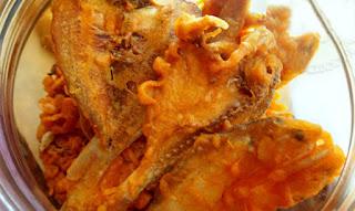 Resep ikan asin tepung