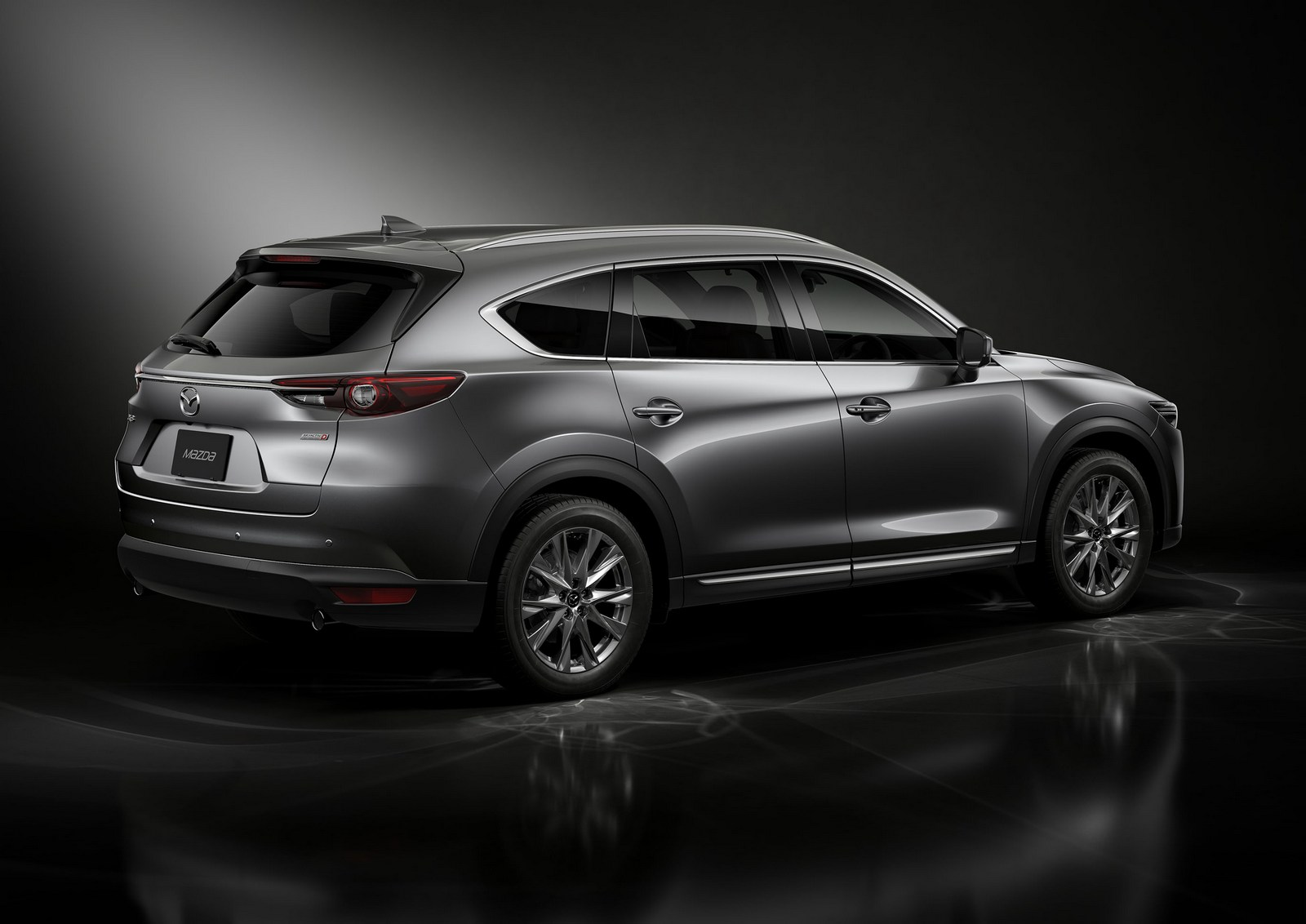 2018 mazda cx 8 unveiled with a diesel engine. Black Bedroom Furniture Sets. Home Design Ideas
