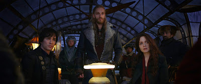 Mortal Engines 2018 movie Hera Hilmar Robert Sheehan