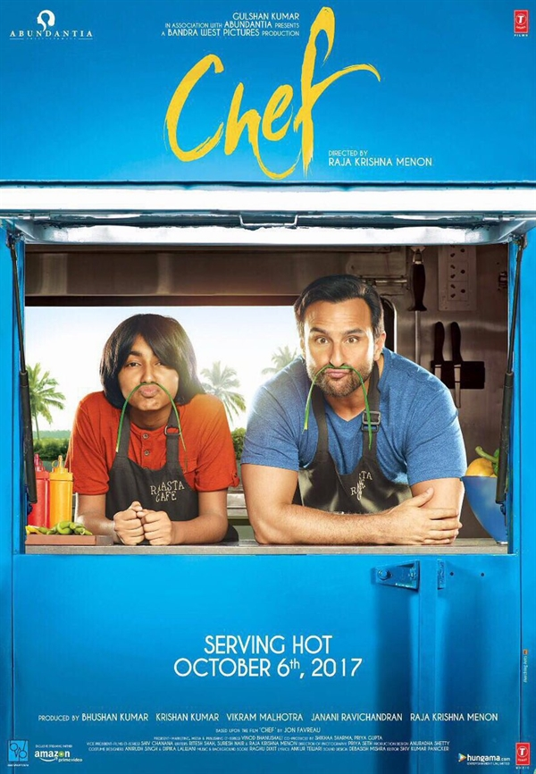 Chef First Look Poster 3