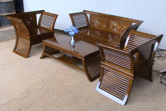 Furniture Of Wood And Bamboo
