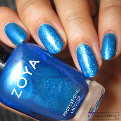 nail polish swatch of River from the Zoya Summer 2017 Wanderlust collection