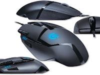 Logitech G402 Hyperion Fury, Mouse Gaming FPS, Posisi Tombolnya Nyaman Diakses