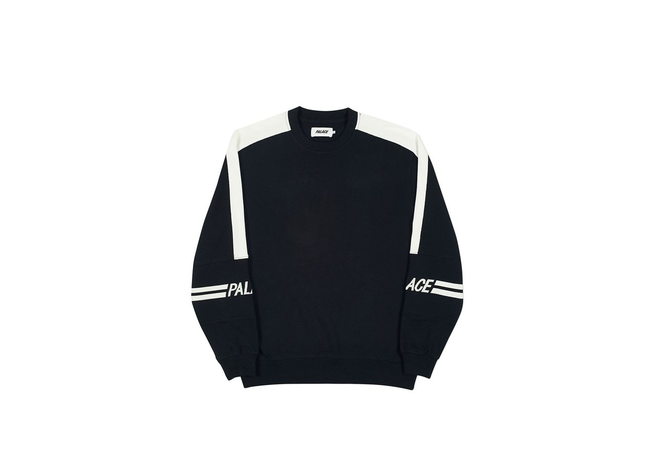 425fb10e3905 The next one is one of the most hyped items from the drop - the Palace 320  Crewneck. I was looking at the navy   red   white colorway
