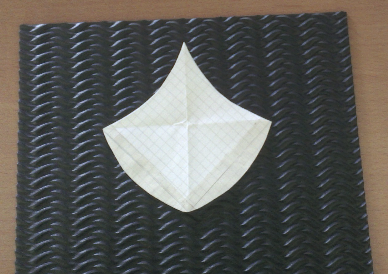 topazturtle handmade make your own moroccan fish scale stencil or