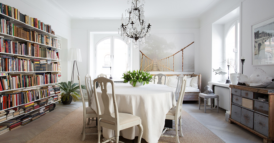 Famoso Shabby and Charme: Nordic style e shabby chic per un bellissimo  KQ04