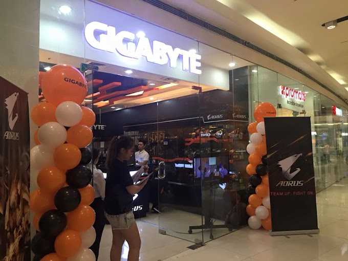 Gigabyte Opens First Concept Store in The Philippines