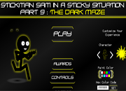 Stickman The Dark Maze