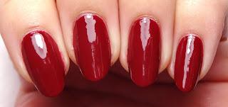 Magenta Nails