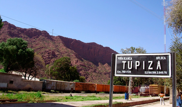 Información viajes en tren desde Tupiza a Oruro