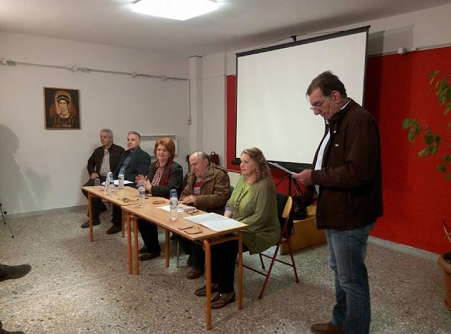 Πραγματοποιήθηκε η παρουσίαση για το Ποντιακό μυθιστόρημα «Το Χρέος» στις Συκιές