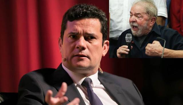 ANTES DO NATAL, LULA TENTOU TIRAR MORO DE AÇÃO DA LAVA JATO - VEJA