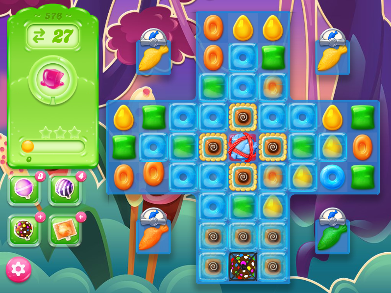 Candy Crush Jelly Saga level 576