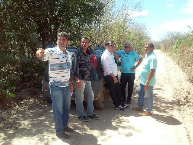 Prefeitura realizará obras na localidade de Chico Pereira
