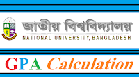 National University GPA Calculation