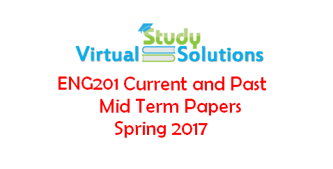 past final term solved papers of eng201 Get eng201 midterm past papers, download eng201 midterm solved papers also download eng201 final term papers and eng201 final term solved papers.