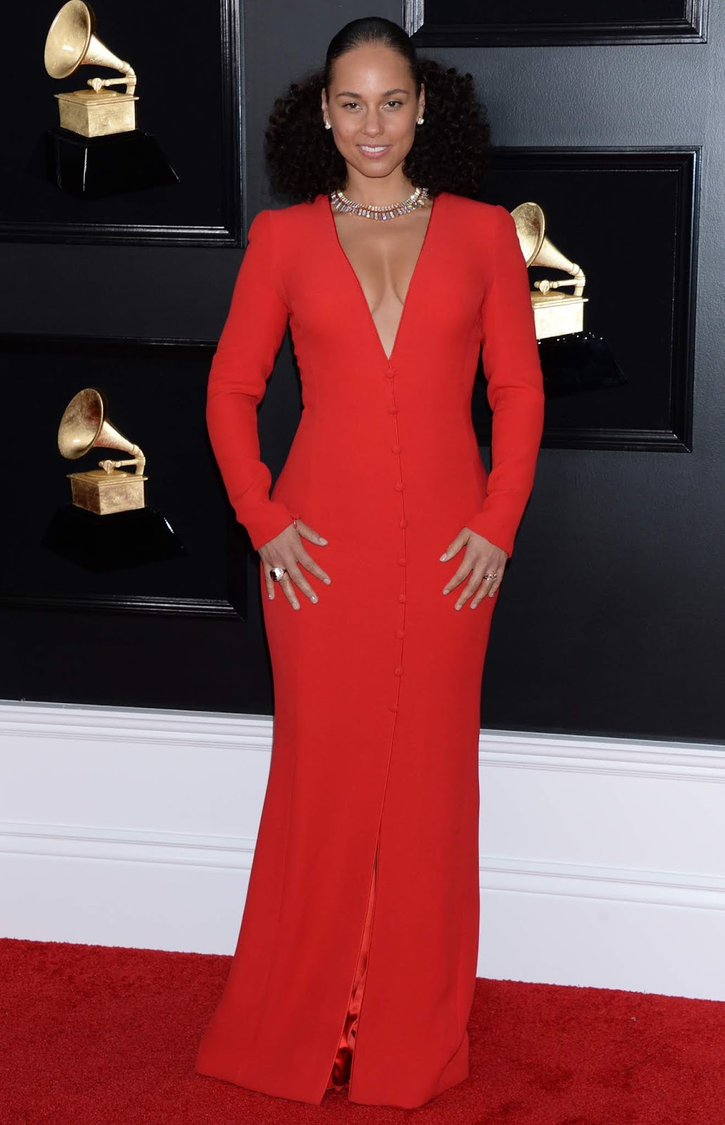 Alicia Keys - 61st Annual Grammy Awards 2019 at the Staples Center in Los Angeles, 10 February 2019