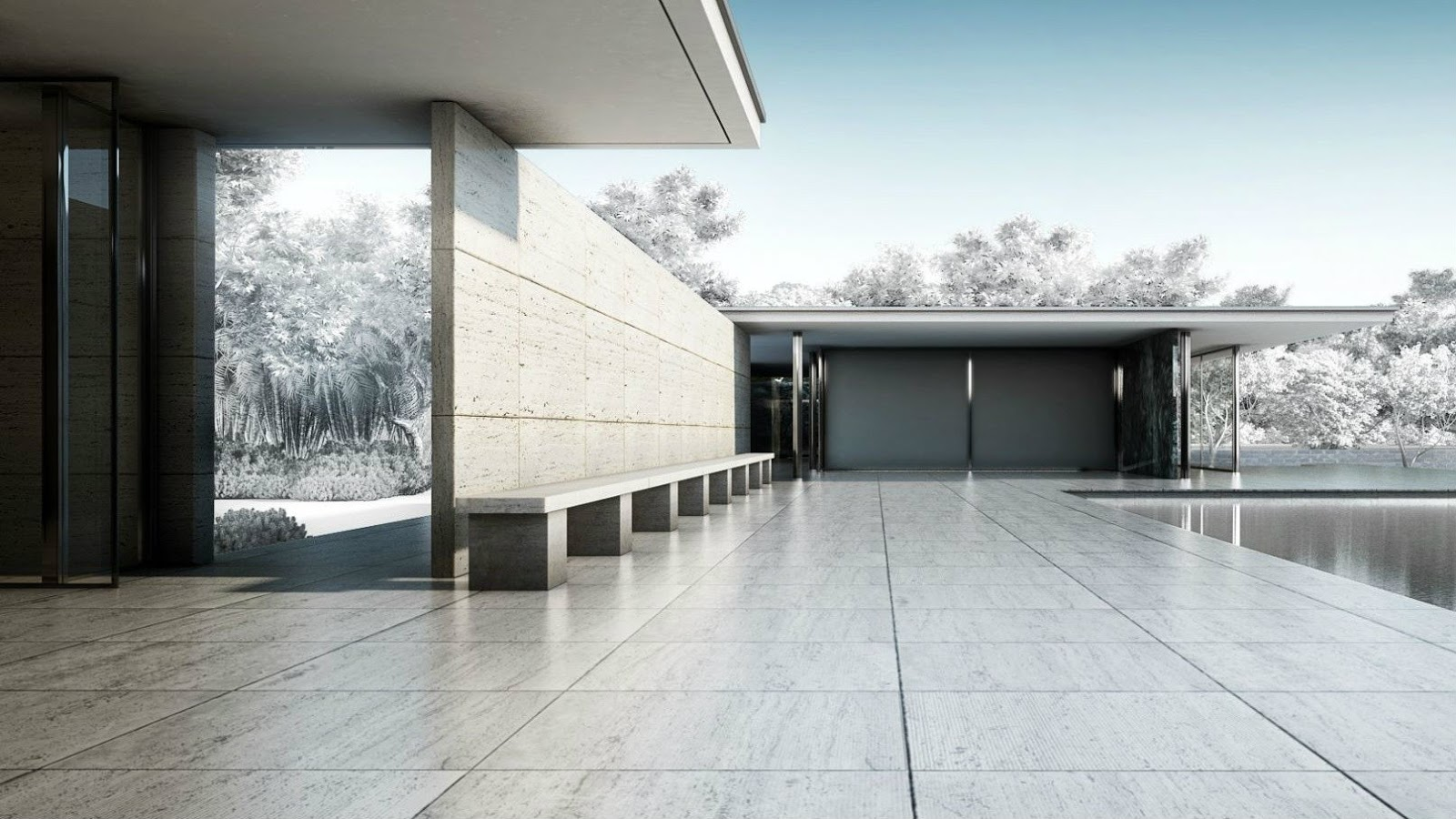14 36 00 miscel neo for Tendencia minimalista arquitectura
