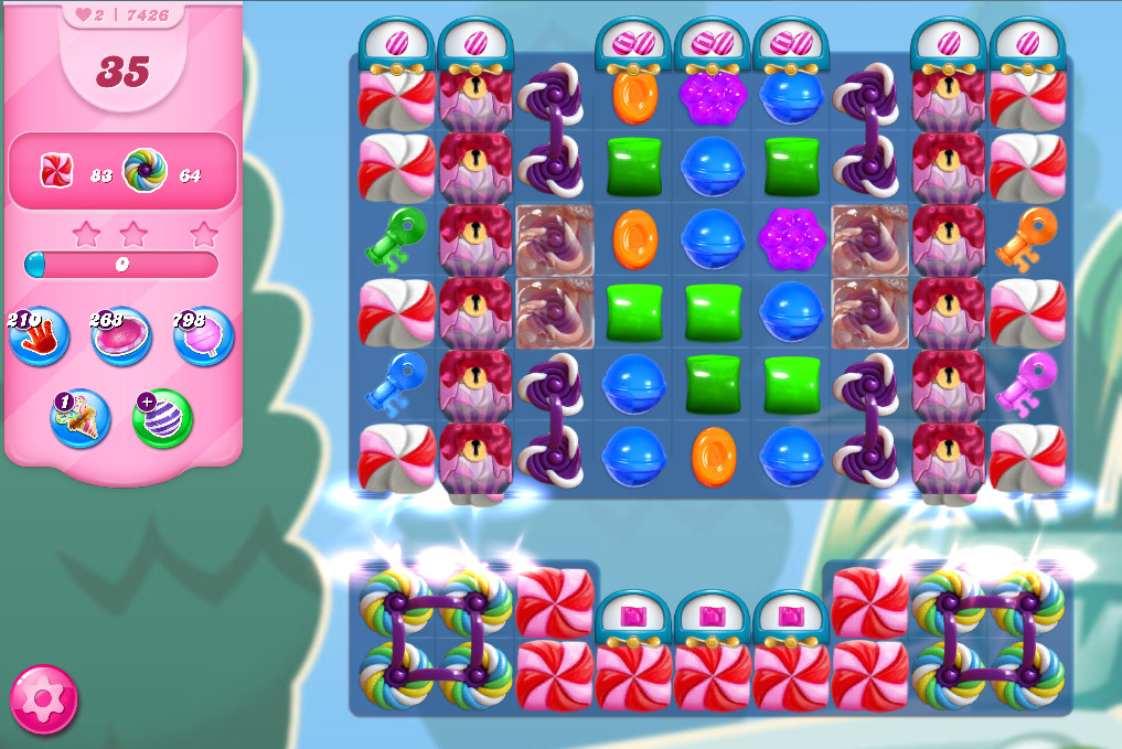 Candy Crush Saga level 7426