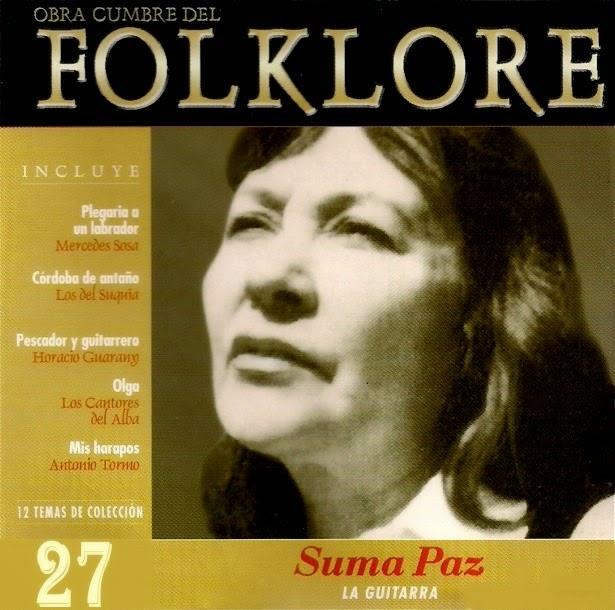 obras cumbres del folklore tapa 27