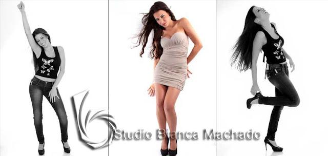 Fotos em estudio para modelo