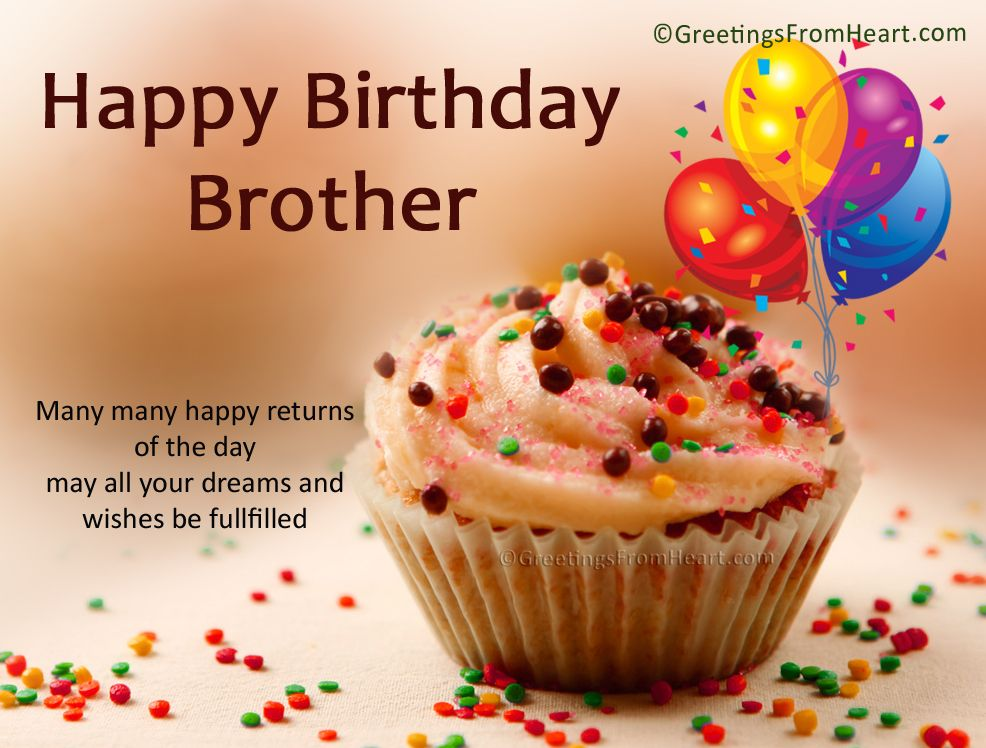 101 Happy Birthday Wishes For Brother Birthday Wishes – Birthday Greeting Cards Brother