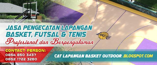 Jasa Pengecatan Lapangan Futsal, Cat Lapangan Futsal Outdoor