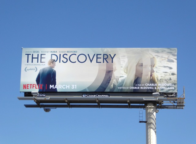 Discovery movie billboard