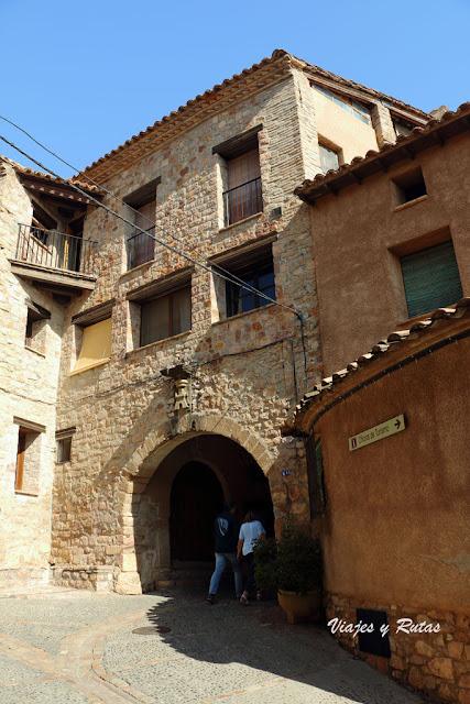 Casas medievales de Alquézar, Huesca
