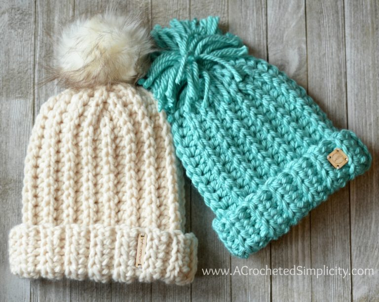 These super bulky crochet hats can be whipped up in no time! Although super  bulky yarn can be on the pricey side 15884a8a4c3