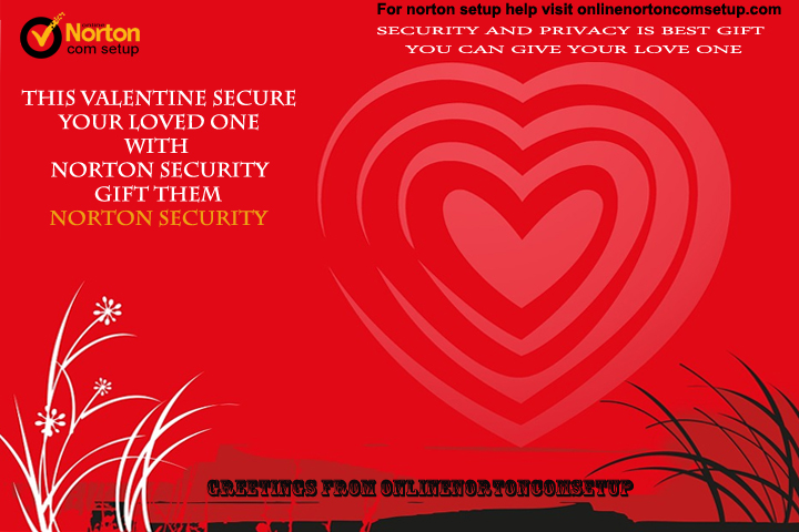 valentine greetings from onlinenortoncomsetup