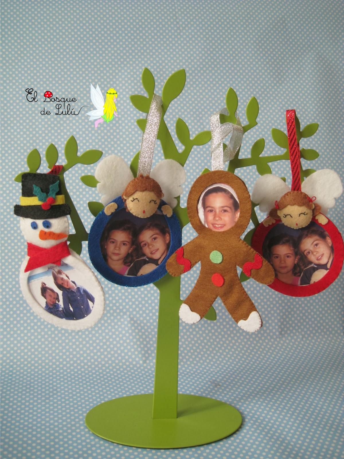 El bosque de lul adornos para el rbol de navidad for Adornos navidenos para el arbol