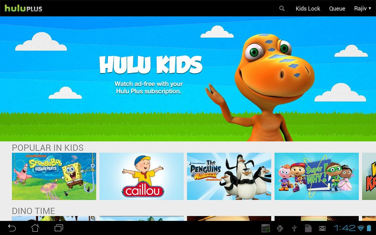 What Kid Tv Shows Are On Hulu Plus