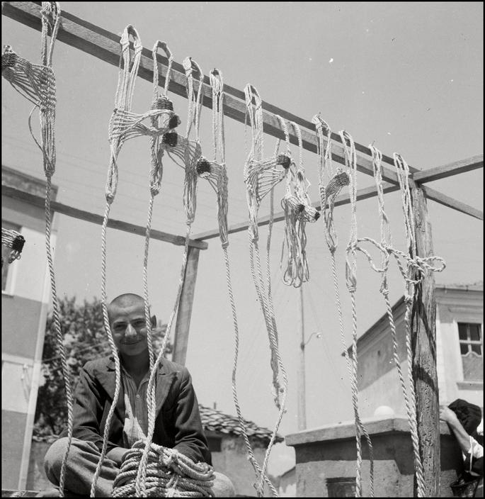 Крымскотатарский торговец веревками, 1943 год