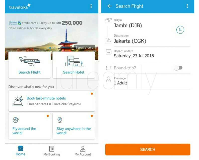 Cara Pesan Tiket Pesawat Di Traveloka Terbaru