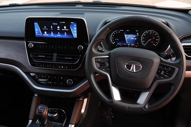 New 2019 Tata Harrier Interior view