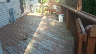 Before picture of deck.