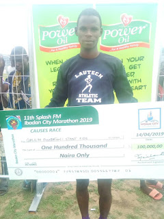 A LAUTECH STUDENT WON #100,000 AND DONATED IT TO THE DISABILITIES