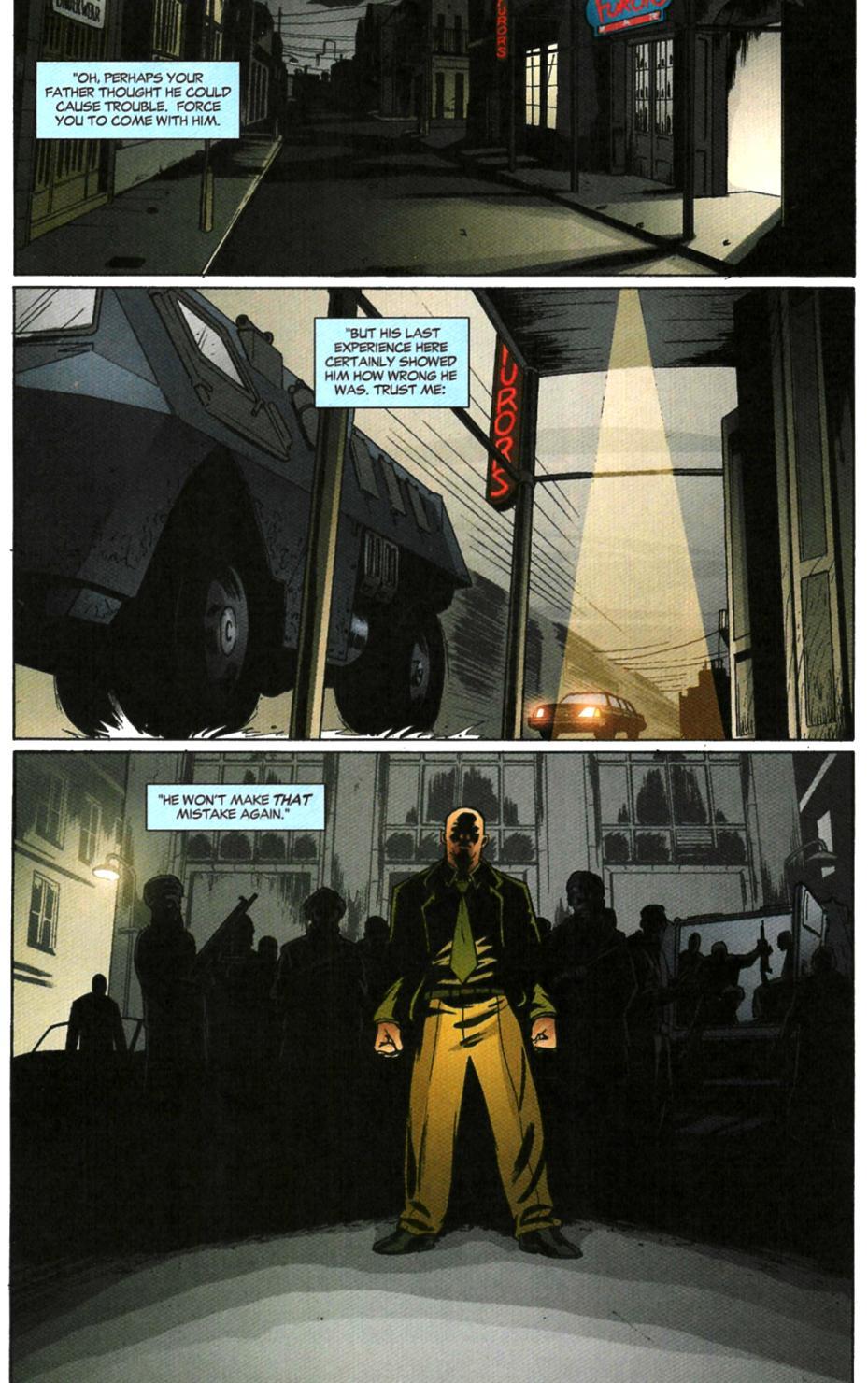 Read online Fallen Angel (2003) comic -  Issue #6 - 9