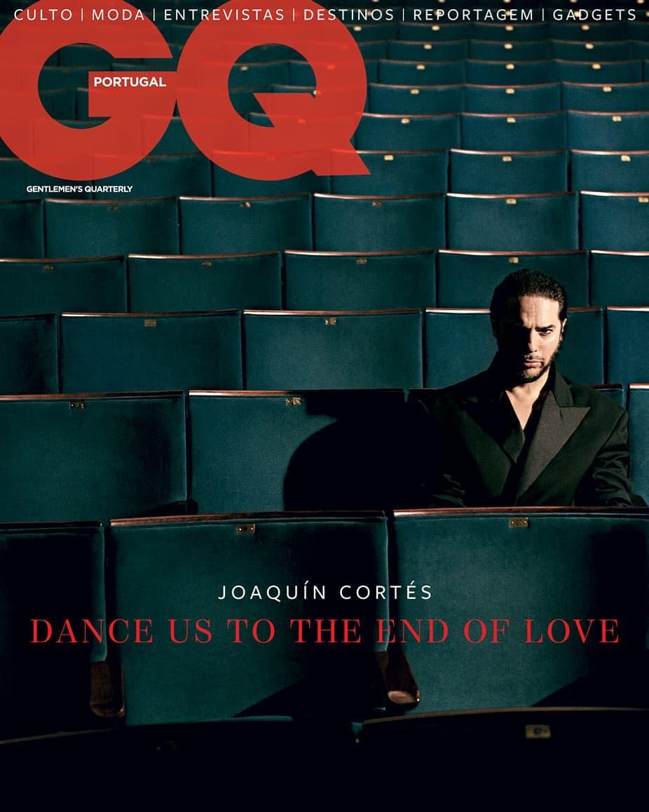 Joaquín Cortés para GQ Portugal por Branislav Simoncik