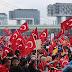 50.000 άτομα διαδηλώνουν υπέρ του Ερντογάν στην Κολωνία - ΦΩΤΟ